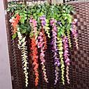 hesapli Yapay Çiçekler-şube İpek Plastik Mor Masaüstü Çiçeği Yapay Çiçekler