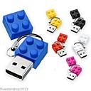 preiswerte USB Speicherkarten-2GB USB-Stick USB-Festplatte USB 2.0 Kunststoff Zeichentrick Kompakte Größe brick