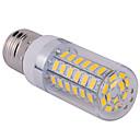 رخيصةأون شرائط ضوء مرنة LED-YWXLIGHT® 1PC 10 W أضواء LED ذرة 1500 lm E26 / E27 T 60 الخرز LED SMD 5730 أبيض دافئ أبيض كول 220 V 110 V / قطعة