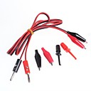 hesapli Konnektörler ve Terminaller-muz fişler timsah klip teli testi hattı + test kanca çevirmek