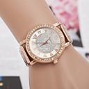 저렴한 여성용 시계-yoonheel 여성용 럭셔리 시계 손목 시계 다이아몬드 시계 석영 메탈 로즈 골드 디자이너 모조 다이아몬드 스위스 아날로그 숙녀 참 시뮬레이션 다이아몬드 시계 패션 - 로즈 골드 1 년 배터리 수명 / SODA AG4