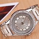 Χαμηλού Κόστους Γυναικεία ρολόγια-yoonheel Γυναικεία Ρολόι Καρπού Καθημερινό Ρολόι Μέταλλο Μπάντα Φυλαχτό / Μοντέρνα Ασημί / Χρυσό / Ενας χρόνος / SODA AG4