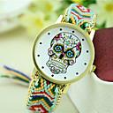 preiswerte Damenuhren-Damen damas Armbanduhr Quartz Schlussverkauf Stoff Band Analog Böhmische Modisch Schwarz / Blau / Orange - Grün Blau Regenbogen