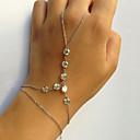 preiswerte Halsketten-Ring-Armbänder - Einzigartiges Design, Modisch Armbänder Gold / Silber Für Party Geschenk Valentinstag