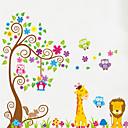 hesapli Çıkartmalar ve Desenler-Hayvanlar Duvar Etiketler Uçak Duvar Çıkartmaları Dekoratif Duvar Çıkartmaları, Vinil Ev dekorasyonu Duvar Çıkartması Duvar