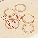 olcso Gyűrűk-Női Hamis gyémánt Ötvözet hölgyek Személyre szabott Divat Divatos gyűrű Ékszerek Aranyozott Kompatibilitás Napi Hétköznapi 8 / Strassz