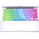 """hesapli Mac Klavye Kılıfları-""""15"""", """"12"""" 11 için 17 13 renkli silikon klavye koruma kapağı cildi coosbo® """"macbook air pro retina"""