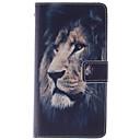 abordables Etuis / Coques pour Nokia-Coque Pour LG Mini G3 / LG G3 / LG L70 Coque LG Portefeuille / Porte Carte / Avec Support Coque Intégrale Animal Dur faux cuir pour LG G2 mini / LG G4
