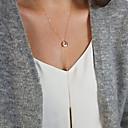 hesapli Küpeler-Kadın's Püskül Uçlu Kolyeler / uzun Kolye - Bayan, Püskül, minimalist tarzı Altın, Gümüş Kolyeler Mücevher Uyumluluk
