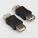 cheap USB Cables-USB 2.0 Type A Female to Female Cord Cable Coupler Adapter Convertor Connector Changer Extender Coupler