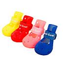 رخيصةأون جواكيت رجالي-كلب أحذية و جزم ملابس الكلاب أحمر أزرق زهري مادة مختلطة كوستيوم من أجل الصيف مقاومة الماء