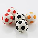 preiswerte Zubehör zum Zeichnen und Schreiben-niedlichen Fußball Fußball montieren Radiergummi Schule Schüler Kinder Geschenk