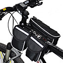 cheap Bike Lights-Acacia <10 L Bike Frame Bag Top Tube Rain Waterproof Multifunctional Bike Bag 600D Ripstop Bicycle Bag Cycle Bag Cycling / Bike