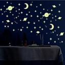 お買い得  LED アイデアライト-風景 動物 ロマンティック ファッション 形 カートゥン ファンタジー ウォールステッカー キラキラ・ウォールステッカー 飾りウォールステッカー, ビニール ホームデコレーション ウォールステッカー・壁用シール 壁