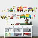preiswerte Stickers für die Dekoration-Formen Cartoon Design Transport Wand-Sticker Flugzeug-Wand Sticker Dekorative Wand Sticker, PVC Haus Dekoration Wandtattoo Wand