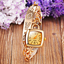 Buy Women's Rectangular dial 100% Stainless Steel Luxury Fashion Lady Bracklet Dress Wristwatch (Assorted Color) Cool Watches Unique Strap Watch