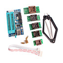hesapli Modüller-mikrodenetleyici geliştirmek için PLCC ic test koltuk adaptör kiti ile pic K150 programcı usb otomatik programlama