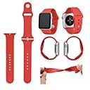 preiswerte Hundespielsachen-Uhrenarmband für Apple Watch Series 4/3/2/1 Apple Sport Band Silikon Handschlaufe