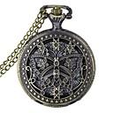 ieftine Ceasuri Bărbați-Bărbați Pentru femei Unisex Ceas de buzunar Quartz 30 m Gravură scobită Analog