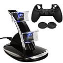 hesapli PS4 Aksesuarları-Şarj Aleti / Oyun Kontrolörü Kasa Koruyucu Uyumluluk PS4 ,  Şarj Aleti / Oyun Kontrolörü Kasa Koruyucu Silikon / ABS 1 pcs birim