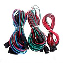 cheap Modules-14pcs Complete Wiring Cables for 3D Printer Reprap RAMPS 1.4 Endstops Thermistors Motor