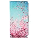 voordelige Galaxy S-serie hoesjes / covers-hoesje Voor Samsung Galaxy Samsung Galaxy hoesje Kaarthouder Portemonnee met standaard Flip Volledig hoesje Boom PU-nahka voor S6 S5 Mini