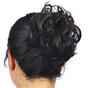 cheap Makeup & Nail Care-hot stylish pony tail women clip in on hair bun hairpiece synthetic hair extension scrunchie