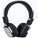 hesapli Kulaklık Setleri ve Kulaklıklar-Kulak Üzerindeyim Kablosuz Kulaklıklar Plastik Cep Telefonu Kulaklık Ses Kontrollü / Mikrofon ile / Gürültü izolasyon kulaklık