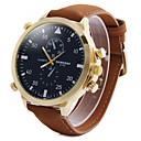 ieftine Ceasuri Bărbați-Bărbați Ceas de Mână Aviation Watch Quartz Piele Khaki Ceas Casual Analog Charm Clasic - Alb Negru Rosu Doi ani Durată de Viaţă Baterie / SOXEY SR626SW