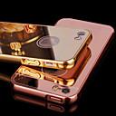 hesapli iPhone Kılıfları-Pouzdro Uyumluluk iPhone 5 / Apple iPhone 5 Kılıf Kaplama / Ayna Arka Kapak Solid Sert Arkilik için iPhone SE / 5s
