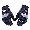 hesapli Telsizler-yanlısı bisikletçi mcs-01a kızak geçirmez tam parmak motosiklet yarış eldivenleri