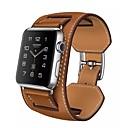 رخيصةأون ألعاب السيارات-حزام إلى Apple Watch Series 4/3/2/1 Apple بكلة كلاسيكية جلد طبيعي شريط المعصم