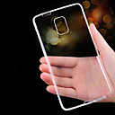 저렴한 갤럭시 S 시리즈 케이스 / 커버-케이스 제품 Samsung Galaxy Samsung Galaxy Note 울트라 씬 투명 뒷면 커버 한 색상 TPU 용 Note 5 Note 4 Note 3