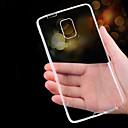 hesapli Galaxy Note Serisi Kılıfları / Kapakları-Pouzdro Uyumluluk Samsung Galaxy Samsung Galaxy Note Ultra İnce Şeffaf Arka Kapak Tek Renk TPU için Note 5 Note 4 Note 3