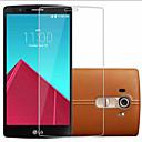 hesapli LG İçin Ekran Koruyucuları-Ekran Koruyucu LG için LG G4 Temperli Cam 1 parça Yüksek Tanımlama (HD)