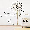 hesapli Dekorasyon Etiketleri-Dekoratif Duvar Çıkartmaları - Uçak Duvar Çıkartmaları Manzara / Yılbaşı / Çiçekler Oturma Odası / Yatakodası / Banyo / Çıkarılabilir