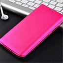 preiswerte Ladegeräte fürs Handy-Hülle Für Samsung Galaxy Samsung Galaxy Hülle Kreditkartenfächer / Flipbare Hülle Ganzkörper-Gehäuse Volltonfarbe PU-Leder für S6 edge