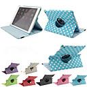 hesapli iPad Kılıfları/Kapakları-DE JI Pouzdro Uyumluluk Apple Satandlı / Oto Uyu / Uyan / 360° Dönüş Tam Kaplama Kılıf Kuyruk PU Deri için iPad Air