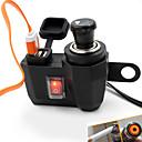 Χαμηλού Κόστους Μοτοσυκλέτα & Εξαρτήματα ATV-συναρμολόγηση μοτοσικλετών τσιγάρο τηλέφωνο USB φορτιστή αναπτήρα αυτοκινήτου 12V αναπτήρα για να μεταφέρουν τη λειτουργία σκούτερ νερό