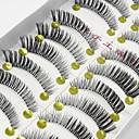 voordelige Make-up & Nagelverzorging-Oogwimper 10 Verlengde Opgeheven Wimpers Extra Volume Naturel Feestelijke make-up Dagelijkse make-up Volledige strook wimpers Kruiselings
