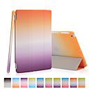 preiswerte Zubehör für GoPro-Hülle Für iPad Mini 3/2/1 Origami Ganzkörper-Gehäuse Farbverläufe PU-Leder für iPad Mini 3/2/1
