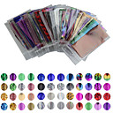 cheap Makeup & Nail Care-50 pcs Nail Foil Striping Tape nail art Manicure Pedicure Lovely Cartoon / Punk / Fashion Daily / Foil Stripping Tape