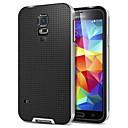 preiswerte HTC Bildschirm-Schutzfolien-Hülle Für Samsung Galaxy Samsung Galaxy Hülle Geprägt Rückseite Solide TPU für S5