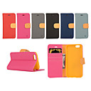 cheap LED Corn Lights-Case For iPhone 5 / Apple iPhone 5 Case Wallet / Card Holder / with Stand Full Body Cases Solid Colored Hard PU Leather for iPhone SE / 5s / iPhone 5