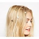 저렴한 헤어 쥬얼리-여성용 우아함 헤어 클립 합금, 꽃패턴 / 나선형 머리 핀의 자형