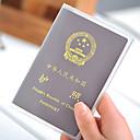 hesapli Seyahat Güvenliği-Pasaport Tutucu ve Kimlik Tutucu Pasaport Kapağı Taşınabilir için Seyahat Depolama