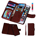cheap Men's Watches-DE JI Case For Apple iPhone 8 / iPhone 8 Plus / iPhone 7 Wallet / Card Holder / with Windows Full Body Cases Solid Colored Hard PU Leather for iPhone 8 Plus / iPhone 8 / iPhone 7 Plus