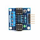 hesapli Motorlar ve Parçaları-arduino + ahududu pi için 2 yönlü DC motor sürücü modülü - mavi
