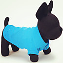 cheap Dog Clothing & Accessories-Cat / Dog Shirt / T-Shirt Dog Clothes Solid Colored Green / Blue / Pink Cotton Costume For Pets Summer Men's / Women's Casual / Daily
