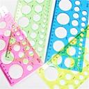 ieftine Kit De Activitate De Copii-1pc arta de a face quilling hârtie rotund șablon - 4 culoare aleatoriu